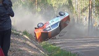 getlinkyoutube.com-Jari-Pekka Ralli Heinola 2014, F-Cup (crash & action)
