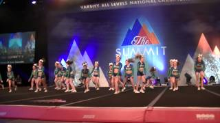 getlinkyoutube.com-Jersey All Stars Small Junior Level 2 - EMERALDS - Day 1 The Summit 2015