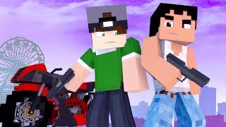 getlinkyoutube.com-Minecraft: GTA NO MINECRAFT! (Build Battle)