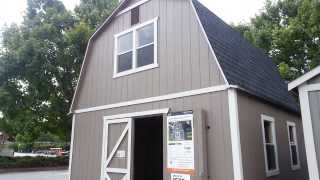 getlinkyoutube.com-Home Depot Outdoor Storage Barn Summer Wind 16' x 16' SKU 624-043