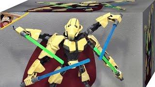 getlinkyoutube.com-ksz 스타워즈 그리버스 장군 사이보그 로봇 75112 레고 짝퉁 배틀 피규어 조립 리뷰 Lego knockoff Star Wars General Grievous