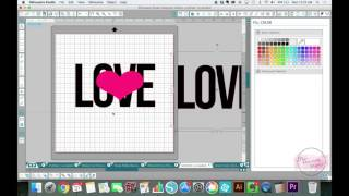 getlinkyoutube.com-How to Do A Knockout Design in Silhouette Studio with Crop Tool