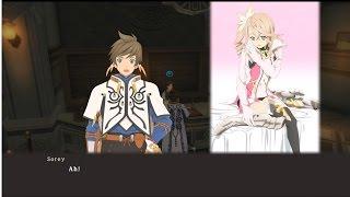 Tales of Zestiria - Lailah walks in on Sorey and Alisha.