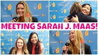 MEETING SARAH J. MAAS! | CUCKOO FOR BOOKS