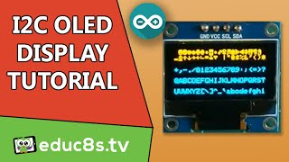 getlinkyoutube.com-Arduino Tutorial: 0.96' 128x64 I2C OLED Display from banggood.com tutorial with review and drivers
