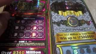 getlinkyoutube.com-Both $50 Scratch Offs Texas Lottery #1