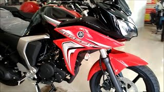 getlinkyoutube.com-New 2015 Yamaha Fazer Fi V2.0 Dawn Red