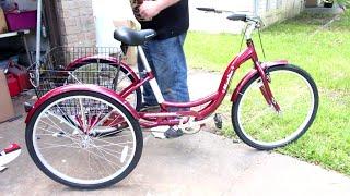 getlinkyoutube.com-How To Assemble & Motorize a Schwinn Meridian Adult 3 Wheel Trike