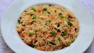 getlinkyoutube.com-Chicken Fried Rice Recipe | Chicken Recipes
