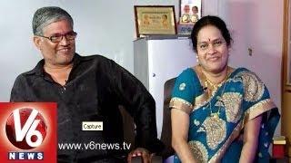 getlinkyoutube.com-Tanikella Bharani And His Wife Durga Bhavani in Life Mates || V6 News