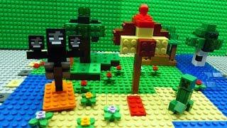 getlinkyoutube.com-Minecraft Lego -  Building Time -  Island Paradise - stampylonghead and iballisticsquid parody