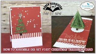 getlinkyoutube.com-Pop it Ups 1037 Christmas Trees Pop Stand Assembly