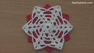 getlinkyoutube.com-Crochet motif for tunic blouse dress  VERY EASY free pattern tutorial
