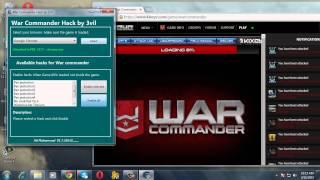 War Commander Work Shop Hack ! 100%work