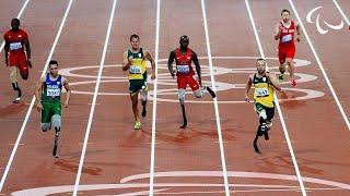 getlinkyoutube.com-Athletics - Men's 200m - T44 Final - London 2012 Paralympic Games
