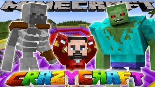 Minecraft CrazyCraft - NEW MUTANT BATTLE ARENA!!!