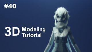 getlinkyoutube.com-[Part 40/ 40] Anime Character 3D Modeling Tutorial II - Shoes