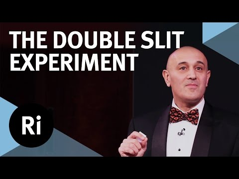 Double Slit Experiment explained! by Jim Al-Khalili