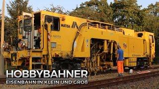 getlinkyoutube.com-Beladung Gleisstopfmaschine in Dippoldiswadle (Timelaps) - Weißeritztalbahn [HD/60FPS]