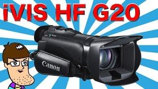 getlinkyoutube.com-iVIS HF G20を開封して画質検証!