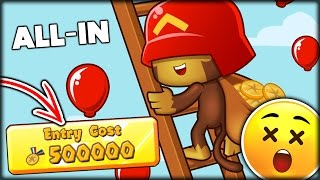 THE ULTIMATE ALL-IN SPEND ALL MEDALIONS CHALLENGE + MEME DONATIONS | BTD Battles / Bloons TD Battles