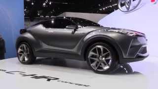 getlinkyoutube.com-2015 Toyota C-HR Concept at IAA 2015 | AutoMotoTV