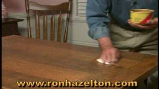 getlinkyoutube.com-How to Clean and Wax a Wood Table