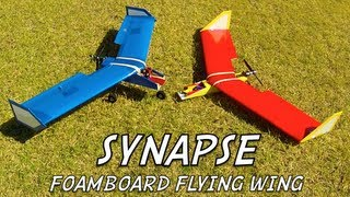 getlinkyoutube.com-SYNAPSE Foamboard Flying Wing - Intro Video