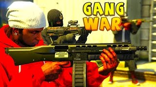 getlinkyoutube.com-GTA 5 ONLINE -  GANG WAR SEASON 4 | CRIPS VS BLOODS