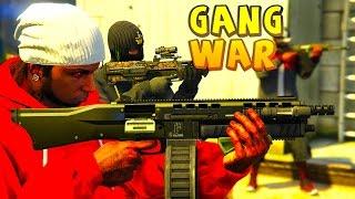 GTA 5 ONLINE -  GANG WAR SEASON 4 | CRIPS VS BLOODS