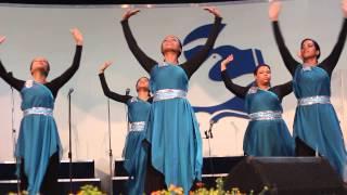 getlinkyoutube.com-Danza Ministerio Fiesta - Iglesia Cristiana, Sto. Dgo. Rep. Dom.