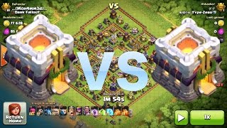 getlinkyoutube.com-Clash of Clans - TH11 VS TH11 EPIC DEFENSE SHOWDOWN!