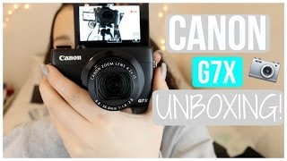 getlinkyoutube.com-Canon G7X Unboxing + Demo! Allisa Rose