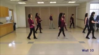 getlinkyoutube.com-It Must Have Been Love - Line Dance (Dance & Teach)