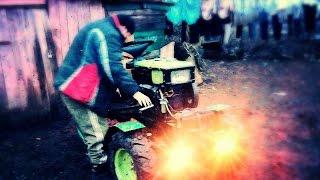 getlinkyoutube.com-Передня Балка для міні Трактора з Мотоблока №1
