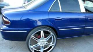 "getlinkyoutube.com-26"" RIMS ON 1998 buick century color change / JOHNS RESTORATION"