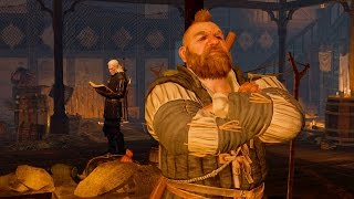 getlinkyoutube.com-Geralt Meets Zoltan  and Throws Squatters from Rosemary and Thyme Inn in Novigrad (Witcher 3)