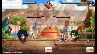 getlinkyoutube.com-Ninja Heroes (SD Ninja) - Ninja SS Madara VS Hashirama