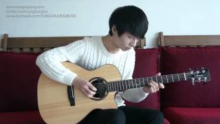 getlinkyoutube.com-(Frozen OST) Let It Go - Sungha Jung