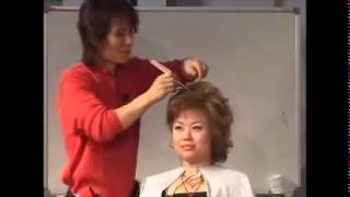 getlinkyoutube.com-김환올림머리세미나 cut + upstyle
