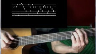 You're all I need   White Lion tutorial for solo guitar