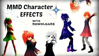 getlinkyoutube.com-[MMD x MME Downloads] ►20 Model Effects Demo Vid ~ HD
