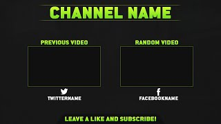 getlinkyoutube.com-[FREE] Outro Template V2 [PSD]