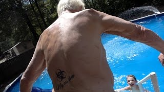 getlinkyoutube.com-ANGRY GRANDPA GOES SWIMMING!