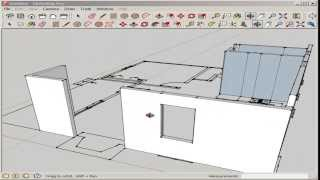getlinkyoutube.com-SketchUp: Import and Model an AutoCAD Floor Plan