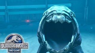 getlinkyoutube.com-Aquatic update is here!|Jurassic World the game Aquatic park |Episode One