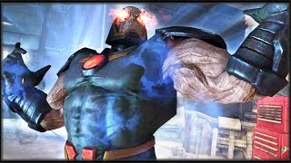 "getlinkyoutube.com-Injustice: Gods Among Us - ""Apokolips"" Darkseid! Attacks!"