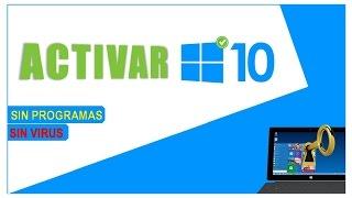 getlinkyoutube.com-Activar sin Programas Windows 10 Pro v10240 Full!