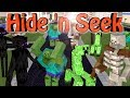 Minecraft Mods | MORPH HIDE AND SEEK - Mutant Creatures Mod!