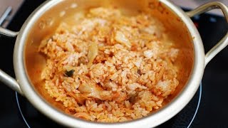 getlinkyoutube.com-백종원 김치볶음밥♥완전초간단 Super-Simple Kimchi Fried Rice Recipe